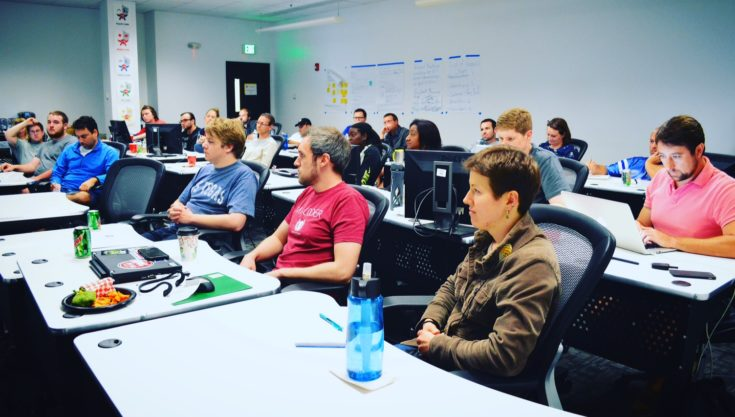 Coding bootcamp doesn't involve a drill sergeant yelling code at you.